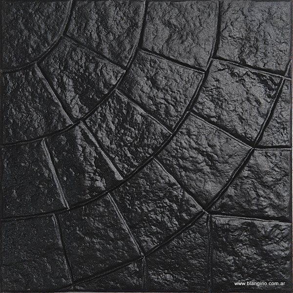 A. Circular 16 Panes Negro