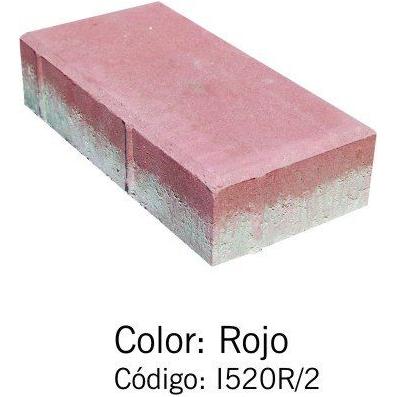 Adoquín Bi Capa Rojo