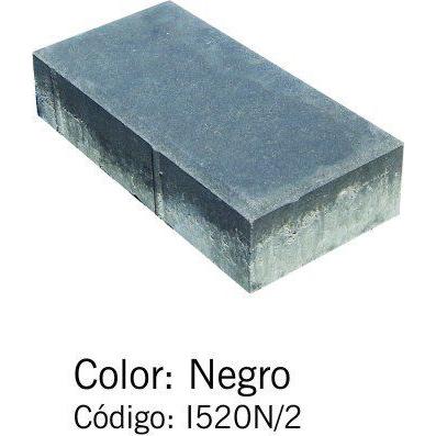 Adoquín Bi Capa Negro