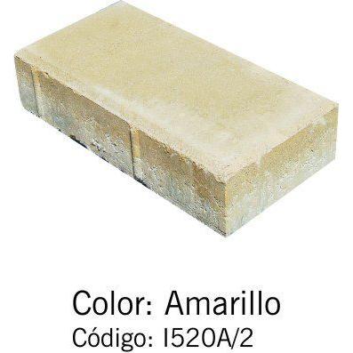 Adoquín Bi Capa Amarillo
