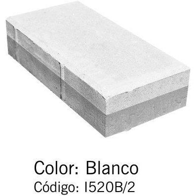 Adoquín Bi Capa Blanco