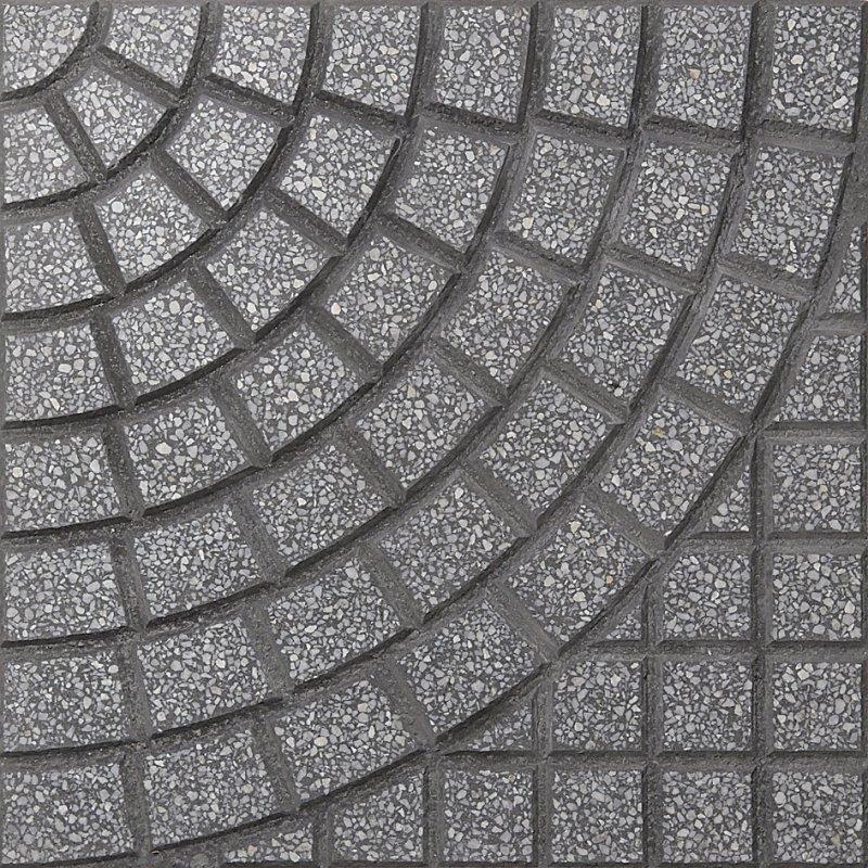 Circular Gris Bardiglio Oscuro (40 x 40)