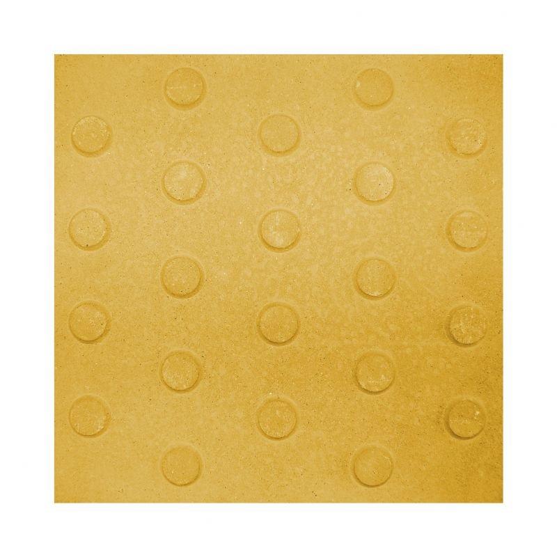 Alerta 30x30 Amarillo (Con cemento blanco)